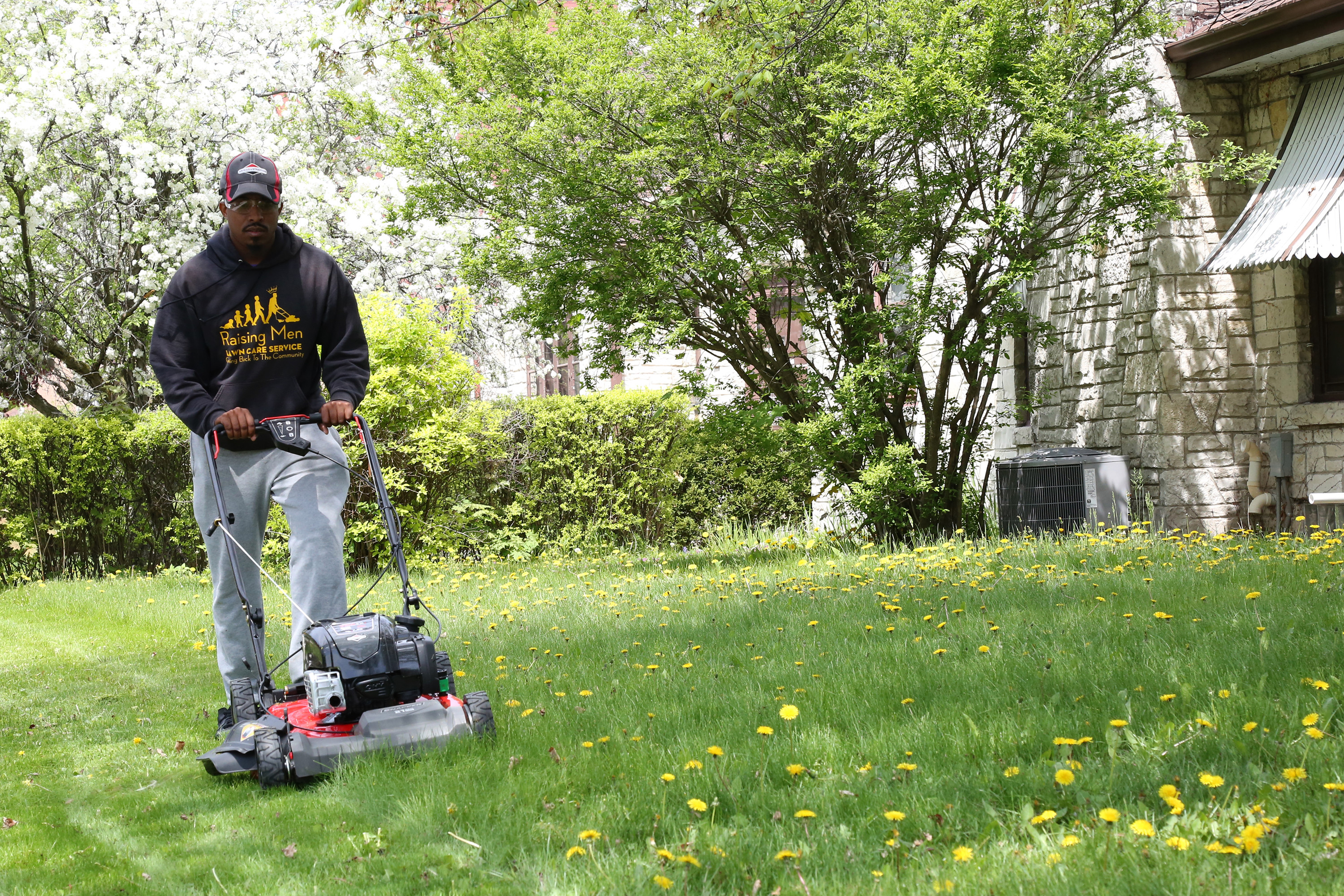 Rodney Smith Jr Is Traveling To All 50 States Mowing
