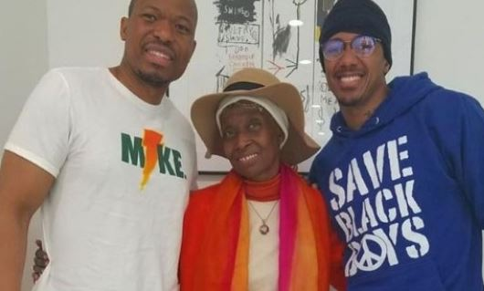 Nick Cannon Met With Dr  Sebi Family Members Indicating He's